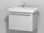 Duravit X-Large - Vanity unit wall-mounted high-gloss white lacquer 600mm