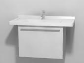 Duravit X-Large - Waschtischunterbau wandhängend Weiß Hochglanz Lack 600 mm