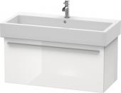Duravit x-Large - Waschtischunterbau weiß hochglanz dekor 750 mm