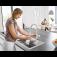 Grohe Blue Home - Starter Kit Bluetooth/WIFI C-Auslauf chrom environment 9
