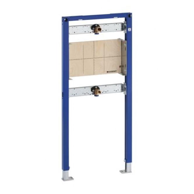 Geberit Duofix - Montageelement für Dusche und Badewanne 1120 mm Wandarmatur Unterputz