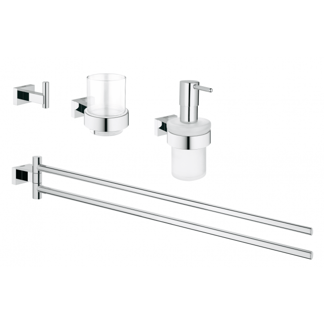 Grohe Essentials Cube - Bad-Set 4 in 1