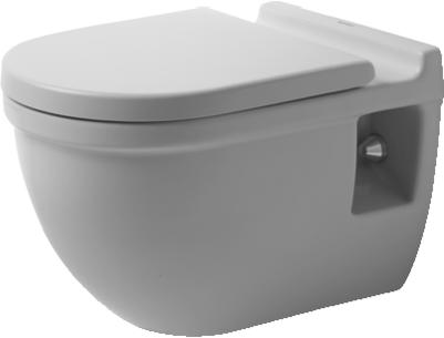 duravit starck 3 wand tiefsp l wc comfort erh ht ohne rimless xtwostore. Black Bedroom Furniture Sets. Home Design Ideas