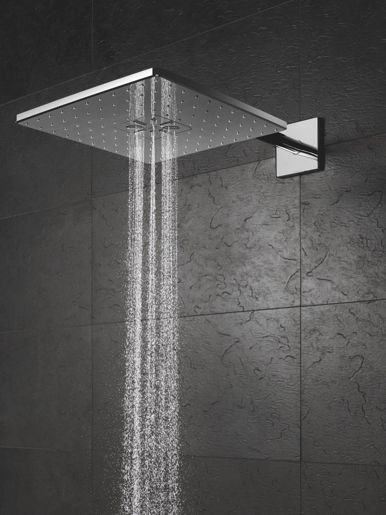 grohe rainshower cosmopolitan kopfbrause set rainshower 310 smart active cube xtwostore. Black Bedroom Furniture Sets. Home Design Ideas