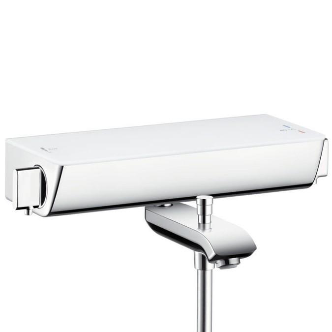 hansgrohe ecostat select aufputz wannenthermostat mit 2 verbrauchern xtwostore. Black Bedroom Furniture Sets. Home Design Ideas