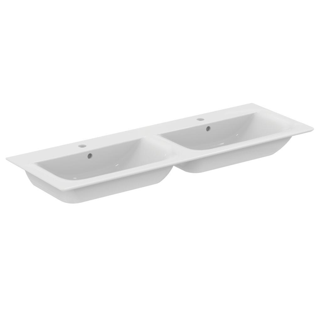 ideal standard connect air m bel doppelwaschtisch 1340 x 460 wei ohne beschichtung xtwostore. Black Bedroom Furniture Sets. Home Design Ideas