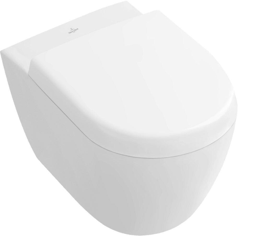villeroy boch subway 2 0 ts wc sp lrandl 5602 370 x 560mm df bodenst wandnah star white c. Black Bedroom Furniture Sets. Home Design Ideas
