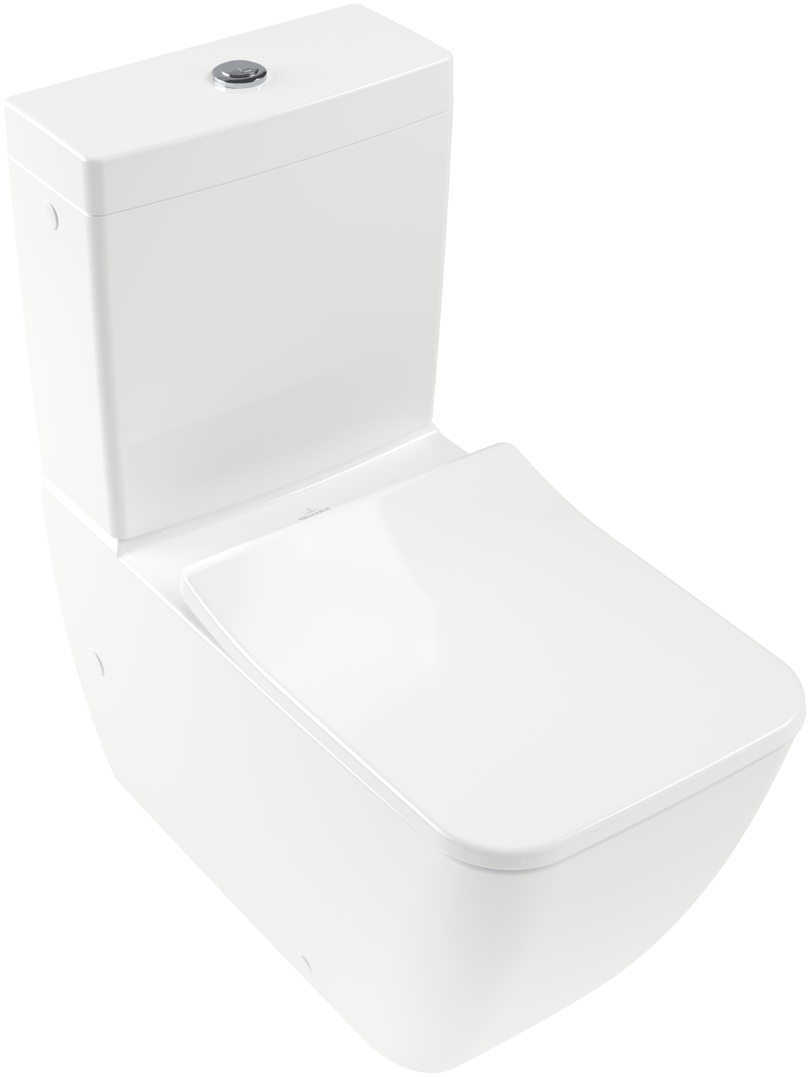 Villeroy & Boch Venticello Stand-Tiefspül-WC Kombination für Aufsatz ...