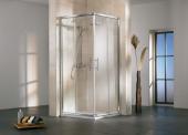HSK Favorit - Eckeinstieg 4-teilig 50 Echtglas klar 1000/800 x 1850 mm 01 alu-natur