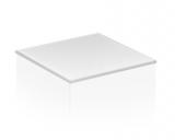 Keuco Edition 11 - Abdeckplatte 31320, Cristallinglas 350x3x524 mm, schwarz