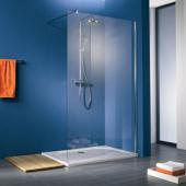 HSK Walk In Premium - Gerades Element 50 Echtglas klar hell 1200 x 2000 mm 95 Standardfarben
