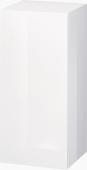 Duravit L-Cube - Halbhochschrank 500 x 900 x 363 mm mit 1 Tür & 2 Glasfachböden & Anschlag links weiß hochglanz