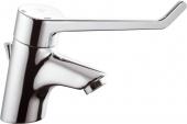 Ideal Standard CeraPlus Sicherheitsarmaturen - Einhebel-Waschtischarmatur mit Hahnloch mit Zugstangen-Ablaufgarnitur chrom