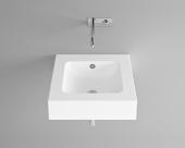 Bette BetteAqua - Aufsatzwaschtisch 530 x 530 x 140 mm ohne Bohrung  weiß