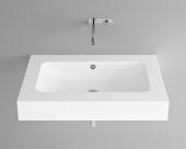 Bette BetteAqua - Aufsatzwaschtisch 900 x 530 x 140 mm ohne Bohrung  weiß