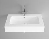 Bette BetteAqua - Aufsatzwaschtisch 900 x 530 x 140 mm mit Bohrung  weiß
