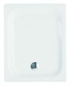 Bette BetteFlach 15 - Rechteckwanne 100 x 120 x 15 cm beige PLUS