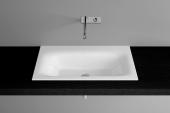 Bette BetteLux - Einbauwaschtisch 800 x 495 x 10 mm weiß ohne Beschichtung