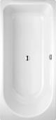 Bette Ocean-Lowline - Rechteck-Badewanne 1500 x 700 x 380 mm weiß