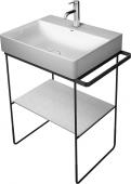 Duravit DuraSquare - Metallkonsole bodenstehend 235312565x451 schwarz matt