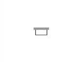 Duravit Starck - Möbelverkleidung 780 x 890 mm