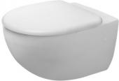 Duravit Architec - Wand-WC 575 mm Tiefspüler Durafix weiß