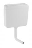 Geberit - Aufputz-Spülkasten AP127 mit Spül- / Stopp-Spülung weiß