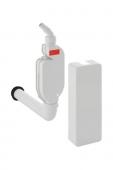 Geberit - Aufputzgeruchsverschluss für Geräte mit Abdeckung