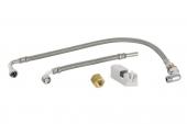 Geberit AquaClean - Wasseranschluss-Set zu Aufputz-Spülkasten mit Wasseranschluss hinten Mitte