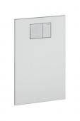 Geberit AquaClean - Designplatte für WC-Aufsatz weiß