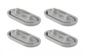 Geberit AquaClean 5000 / 5000plus - Ausgleichspuffer-Set für WC-Sitz