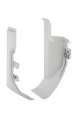 Geberit AquaClean 8000plus - Wandabschluss für Wand-WC weiß