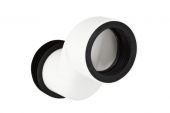 Geberit Monolith - Anschlussstutzen für Wand-WC etagiert 70 mm weiß