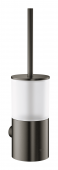 Grohe Atrio - Toilettenbürstengarnitur Wandmontage hard graphite gebürstet
