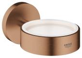 Grohe Essentials - Halter für Becher Seifenschale / Seifenspender warm sunset gebürstet