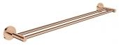 Grohe Essentials - Doppel-Badetuchhalter 654 mm warm sunset