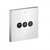Hansgrohe Axor - ShowerSelect Square Ventil Unterputz für 3 Verbraucher