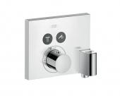 Hansgrohe Axor ShowerSelect - Thermostat Unterputz für 2 Verbraucher mit FixFit und Porter chrom