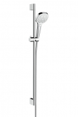 Hansgrohe Croma Select E - Multi Shower Set 0,90 m weiß / chrom