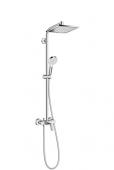 Hansgrohe Crometta - Showerpipe E 240 Einhebelmischer chrom