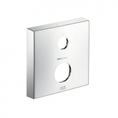 Hansgrohe iBox universal - Verlängerungsrosette eckig 2-Loch 0-1-2 chrom