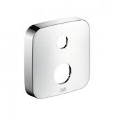 Hansgrohe iBox universal - Verlängerungsrosette 2-Loch 0-1-2 chrom