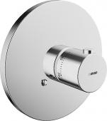 Hansa HansaVario - Fertigmontageset für Thermostat ohne Absperrung chrom