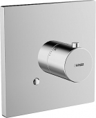 Hansa HansaDesigno - Fertigmontageset für Thermostat ohne Absperrung chrom