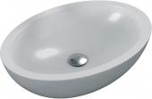 Ideal Standard Strada O - Aufsatzwaschtisch für Möbel 600x420 weiß mit IdealPlus
