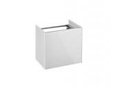 Keuco Royal Reflex - Waschtischunterschrank Anschlag links 1-türig weiß / weiß