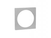 Keuco - Verläng.-Rosette Armaturenzub.59970, für Flexx Boxx, 150 mm eckig, 15 mm
