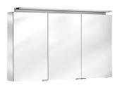 Keuco Royal L1 - Spiegelschrank mit Schubkasten silber-eloxiert 1200 x 742 x 150 mm