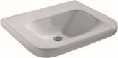 Ideal Standard CONTOUR - Waschtisch unterfahrbar 650 mm (ohne Hahnloch / ohne Überlauf)