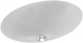 Villeroy & Boch Loop & Friends - Unterbauwaschtisch 385x255 star white mit CeramicPlus